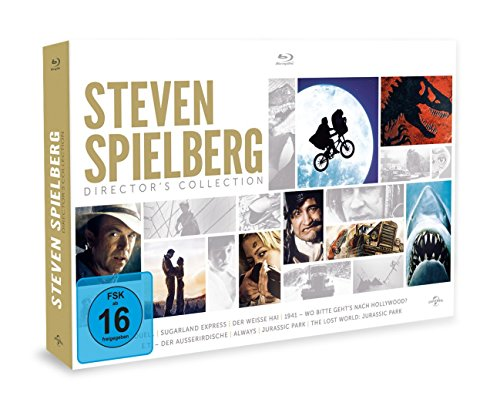 Steven Spielberg Director's Collection [Blu-ray] -