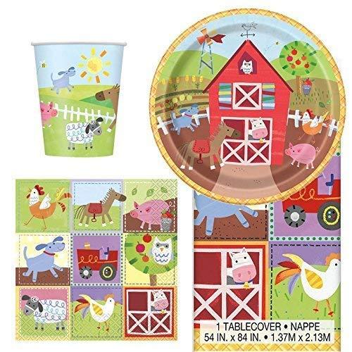 Generic Farm Partygeschirr Pack für 8