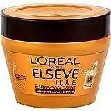 ELSEVE Masque Huile Extraordinaire - 6 micro-huiles de fleurs rares - Pour cheveux secs - 300 ml