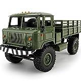 Spielzeug-Truck, Mamum WPL B-241:164WD RC, Selbst-Montage, Militär, Truck, Auto, Fernsteuerbar, Grün/Blau Einheitsgröße grün