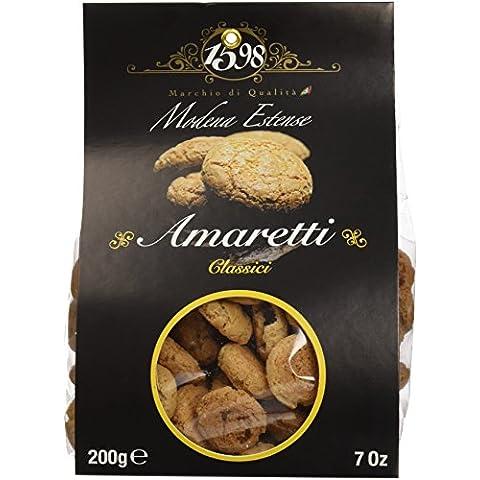Modena Estense Amaretti de Almendras - Paquete de 10 x 200 gr - Total: 2000 gr