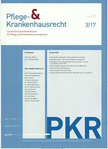 PKR Pflege- & Krankenhausrecht [Jahresabo]
