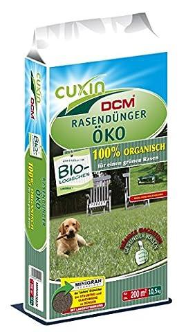 CUXIN DCM Rasendünger Öko (100% organisch) 20 kg