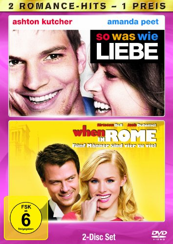 So was wie Liebe / When in Rome - Fünf Männer sind vier zuviel [2 DVDs]