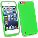 Emartbuy ® Apple Ipod Touch 5 (5. Gen Oktober 2012 Release) Silicon Skin Cover / Case Grün