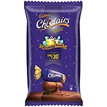 Cadbury Choclairs Birthday Pack 115 Candies, 655.5g