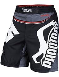 "Phantom Athletics Fight Shorts ""Team Souwer"" - Fight MMA Muay Thai Athletic Fitness Shorts"