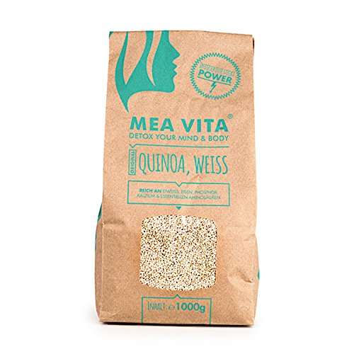 MeaVita Quinoa Samen Top Qualitaet aus Suedamerika, 1er Pack (1 x 1 kg)