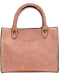 681ed330aceee Amazon.es  Maletines Piel Mujer - Shoppers y bolsos de hombro ...