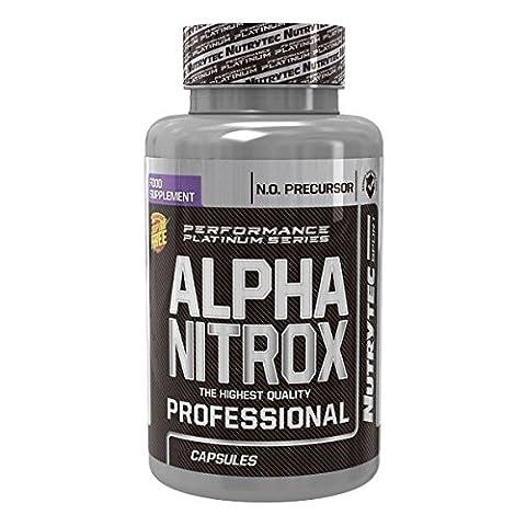 Nutrytec Platinum Series - Alpha nitrox - 180 caps