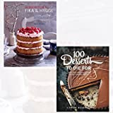 ScandiKitchen Fika and Hygge and 100 Desserts to Die For 2 Books Bundle Collection - Comforting cakes and bakes from Scandinavia with love, Quick, easy, delicious recipes for the ultimate classics