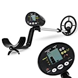INTEY Metal Detector e Display LCD e 4 in 1 Pieghevoli e Borsa Cerca Reel Impermeabile Anti-shock Anti-caduta 19cm