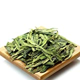 GOARTEA 100g (3.5 Oz) Organic Premium West Lake Xihu Long Jing Longjing Dragon Well Spring Loose Leaf Chinese Green TEA Tee