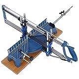 travail du bois Scie à main, fer à repasser manuel de précision à onglets Scie à main Angle réglable Compound mécanique Heavy Duty Angle Scie Outil à Main