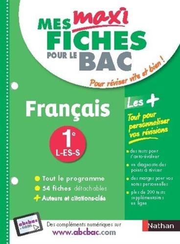 Mes MAXI Fiches Français 1ere L-ES-S (04)