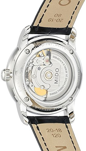 Mido Men's Automatic Watch by Baron Analogue Leather m8600.4.21.4