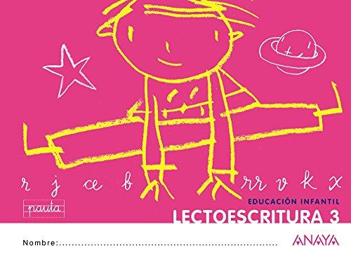 Lectoescritura 3. Pauta. - 9788467815672 por Anaya Educación