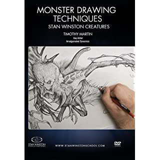 Monster Drawing Techniques - Stan Winston Creatures: Learn how to draw monsters with special effects character creation master Timothy Martin as he pays homage to Stan Winston's iconic creatures.