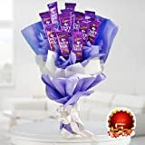 BEST DIWALI GIFT OF FLORAL ARRANGEMENT WITH CHOCOLATE - FFCOD034