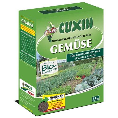 Cuxin Naturdünger für Gemüse Minigran, 3,5 kg