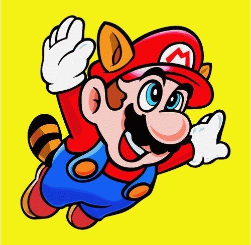 Super Mario Cartoon Hochwertigen Auto-Autoaufkleber 10 x 10 cm