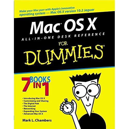 [(Mac OS X All-in-One Desk Reference For Dummies)] [By (author) Mark L. Chambers ] published on (January, 2003)