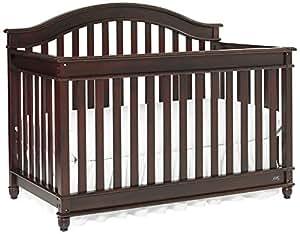 Europa Baby Palisades Convertible Crib, Classic Cherry