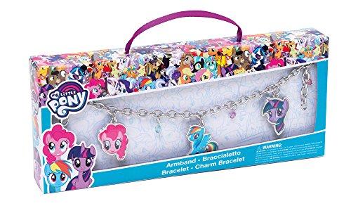 My little Pony 95019 Armband mit Anhängern in Geschenkverpackung, 17 x 3 x 10.5 cm