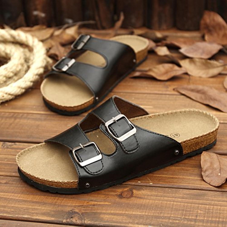 xing lin uomo sandali moda infradito da uomo estivo moda sandali spiaggia scarpe antiscivolo spessa crosta infradito pantofole...  Parent f927e2