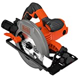 Black+Decker CS1550-QS - Sierra circular (1500 W, 66 mm)