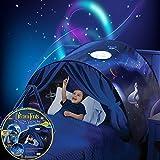 tiendasdecampañaniños Dream Tents ,unicornio magical Aventura espacial,Carpa de cama plegable pop-up interior, regalo de Navidad y regalo de cumpleaños