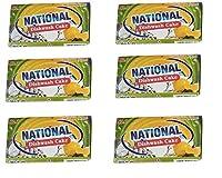 National Dishwash cake(combo pack of 6-170g each)