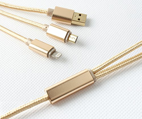 Lively Life 2in1 Charging Cable oro