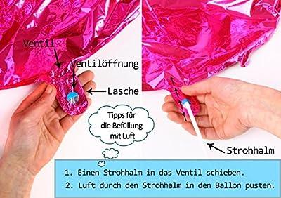 Ballonim Ballerina ca. 80cm Luftballons Folienballon Party DekorationGeburtstag