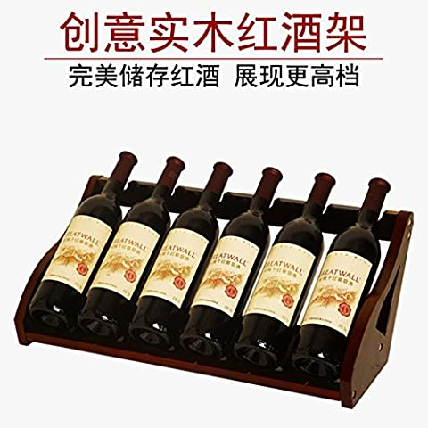ZJWineracks Simple and stylish high-heel shoes resin Wine Rack, red bare price