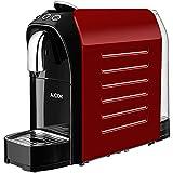 Aicok Machine à Café Espresso 20 bars, Machine Nespresso Capsules pour Espresso & Lungo Haute Qualite, Préchauffage Rapide 25s & Arrêt Automatique, 0.7L, 1255W, Rouge et Noir