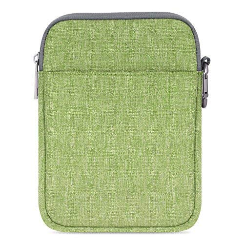 MoKo Kindle Paperwhite/Kindle Voyage Sleeve Hülle - Tragbare Nylon Schutzhülle Tasche für Amazon Kindle Paperwhite/Voyage /6 inch Kindle Oasis/Kindle 8. / HD 6 6 Zoll, Grün (Kindle Fire Tablet Tasche 6 Zoll)