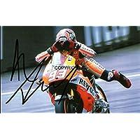 Edición limitada Marc Marquez Moto GP firmada fotografía + Cert impreso
