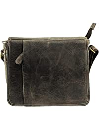 Stonkraft 100% Genuine Leather Unisex Crossing Bag / Shoulder Bag / Office Bag