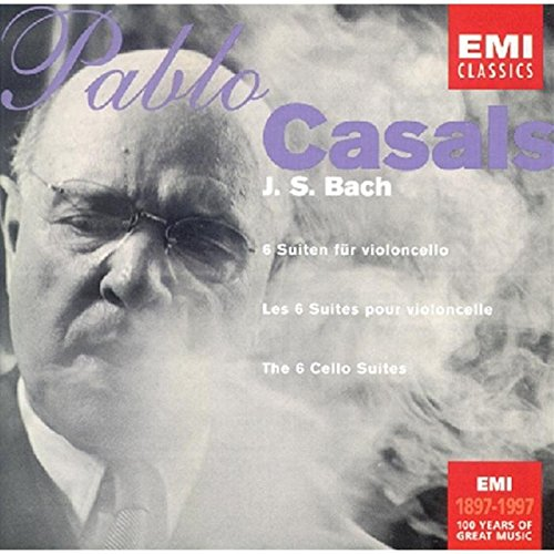Casals Cello-suiten Bach (Centenary Best Sellers - Suiten für Violoncello (Bach))