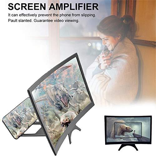 Schermo Curvo ingrandimento Smartphone Video HD