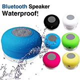 Voltac Water Proof Bluetooth Shower Speaker, Portable Wireless, Kid-Friendly, Call Support - Best For Bath, Pool, Car, Beach, Indoor/Outdoor Use - (Colors May Vary) Model 378109
