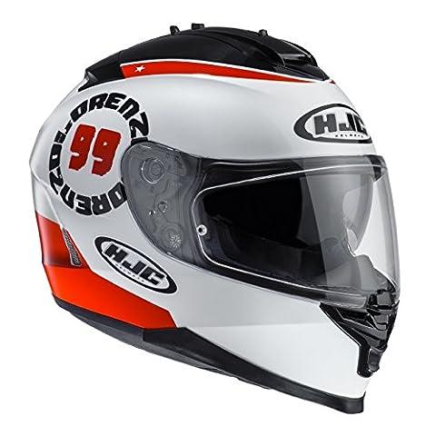HJC - Motorcycle helmets - HJC IS-17 LORENZO ANGEL 99 MC1 - S