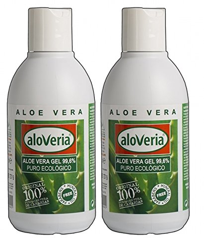 Aloveria Aloe Vera Gel Pur Frais 250ml x 2 unités