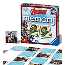 Ravensburger 22313 Marvel Avengers-Mini Memory Kids Age 3 Years and Up-A Classic Picture Snap Matching Pairs Game