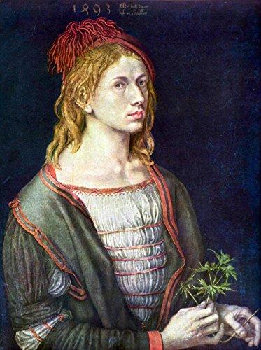Das Museum Outlet-Self Portrait 3von Dürer-A3Poster -