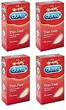 Durex Kondome Thin Feel, dünn, 48 Stück