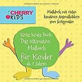 Kritz Kratz Buch - Das ultimative Malbuch für Kinder ab 2 Jahren: Malblock mit vielen kreativen Ausmalbildern zum fertigmalen