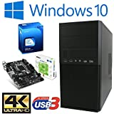 Master-PC Intel Celeron G3900 (Dual-Core) Skylake 2 x 2,80 GHz, 8 GB DDR4, 256 GB SSD SATA3, Intel HD 530 Grafik 4K, USB 3.1, HDMI, DVI, VGA, DVD-Brenner, Sound, Gigabit-Lan, Windows 10 Pro.