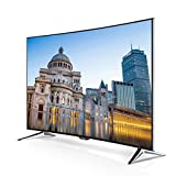 Panasonic TX-55CR430B VIERA 55-Inch Widescreen 4K Ultra HD Smart LED Curved TV with Freeview - Black